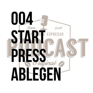 004 – Start Press Ablegen w/Theo Strippel